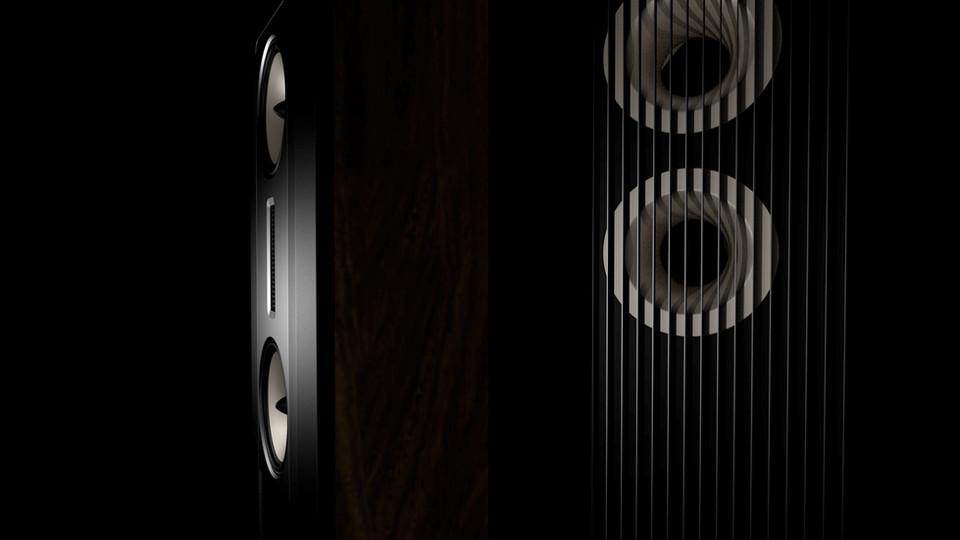 Render Speaker CGI Design