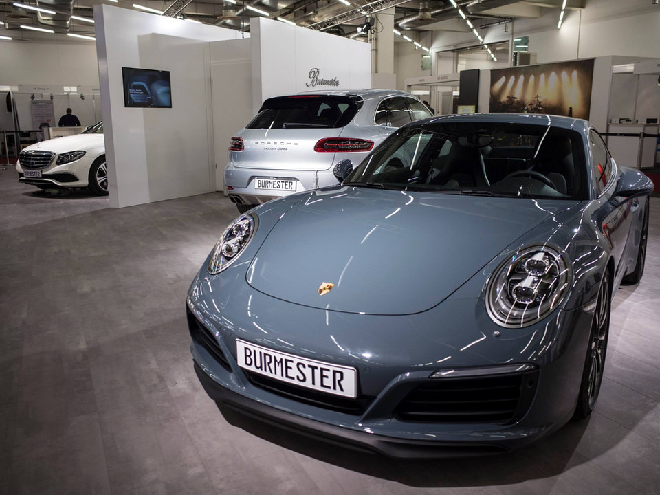 Porsche Burmester Exhibition Design