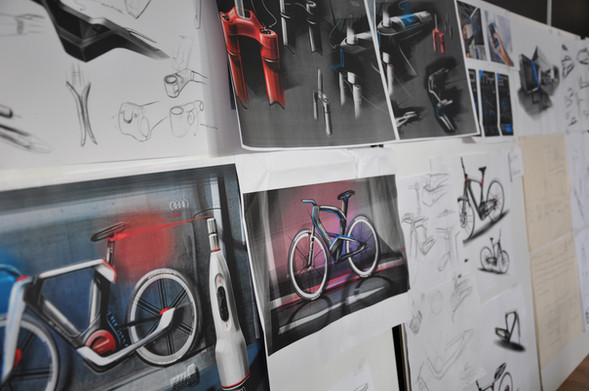 E-Bike Design Sketch