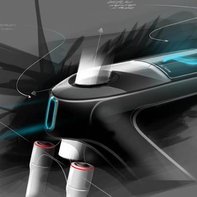 Design Sketch E-Bike
