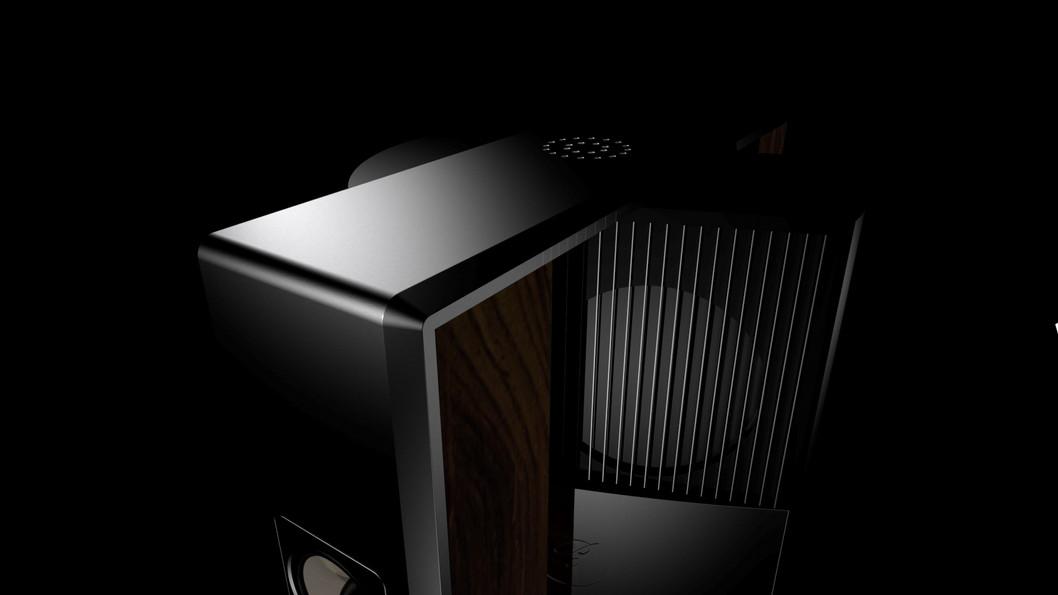 CGI Animation Render Speaker Design
