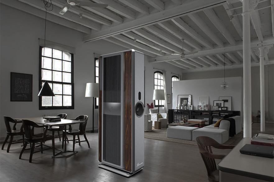 Render CGI Interior Speaker