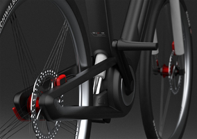 E-Bike Design Render
