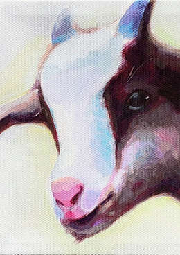 White Goat, Farm Animal Series