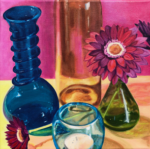 Colored Glass Exercise