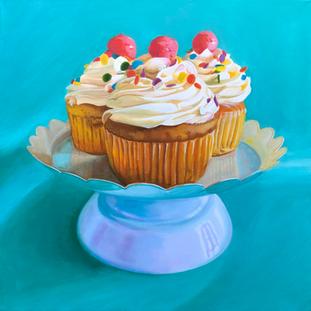 Country Table Cupcakes
