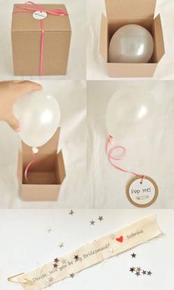Balloon invitations Nelspruit