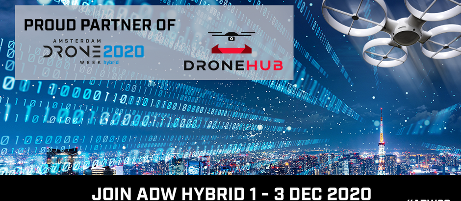 Amsterdam Drone Week Hybrid 2020 - Covid accelerated development of the drone industry.
