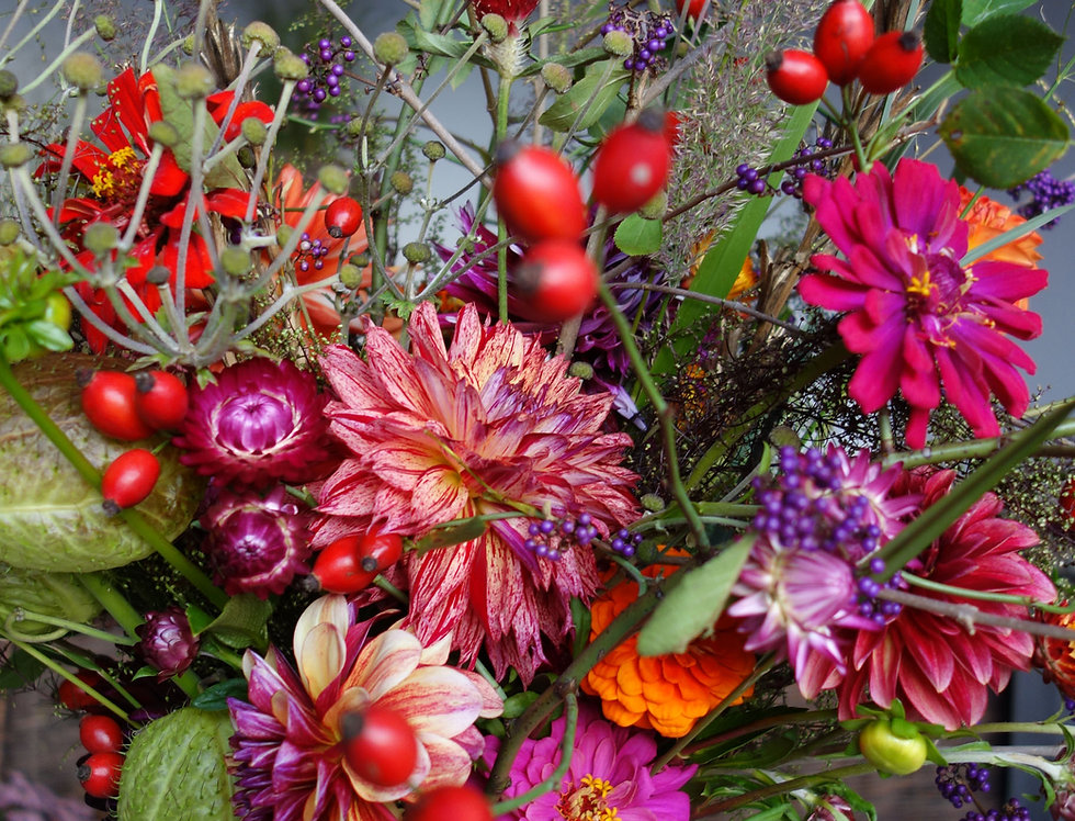 Blumenstrauß Abo - Mittel