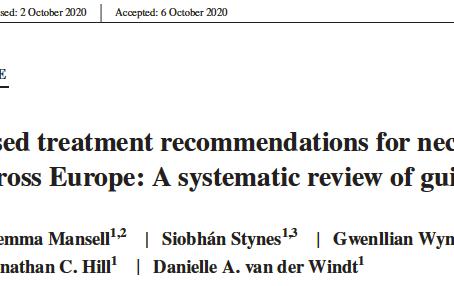 Recomendações baseadas na evidência para dor cervical e lombar na Europa