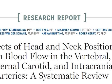 Efeito da posição da cabeça no Aporte Sanguíneo ao Cérebro