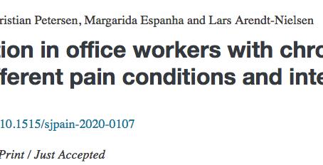 Estudo realizado em Portugal a trabalhadores com computador com dor crónica cervical