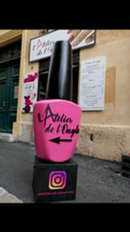 l'Atelier de l'ongle Aix en Provence Creastyl