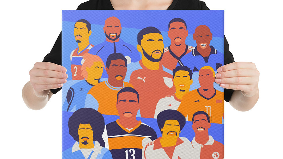 The People's Collection Bermuda Footballers