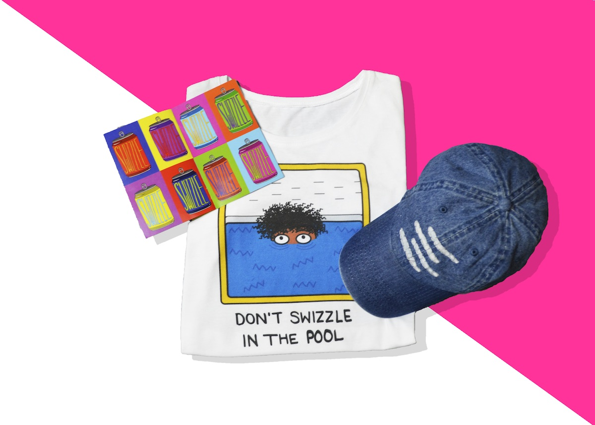 Don't Swizzle in the Pool Tee