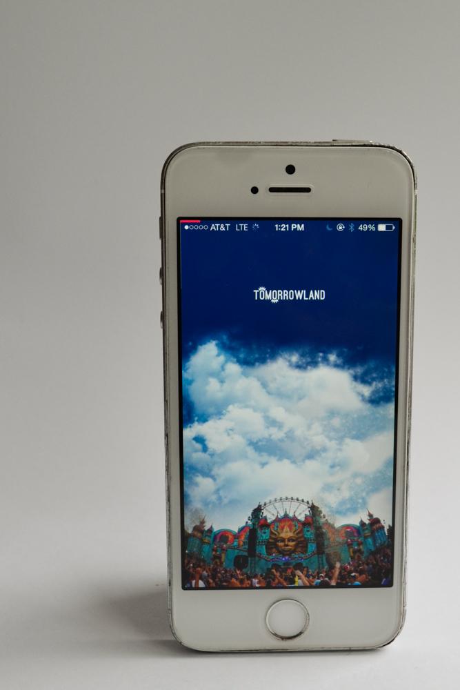 Tomorrowland Homescreen