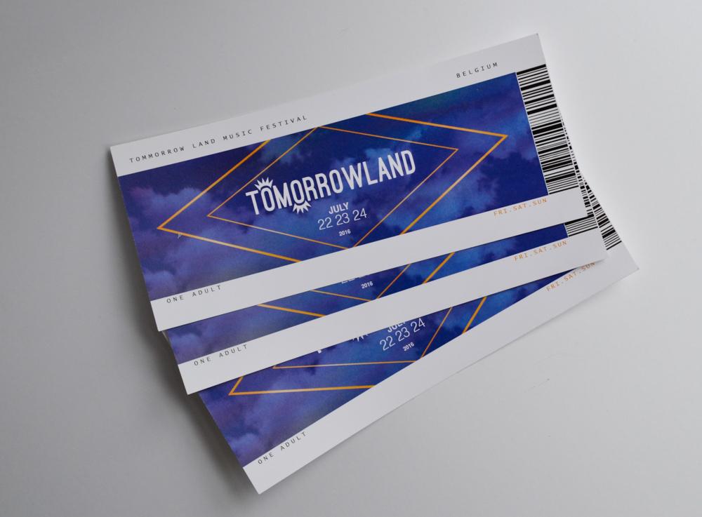 Tomorrowland Ticket