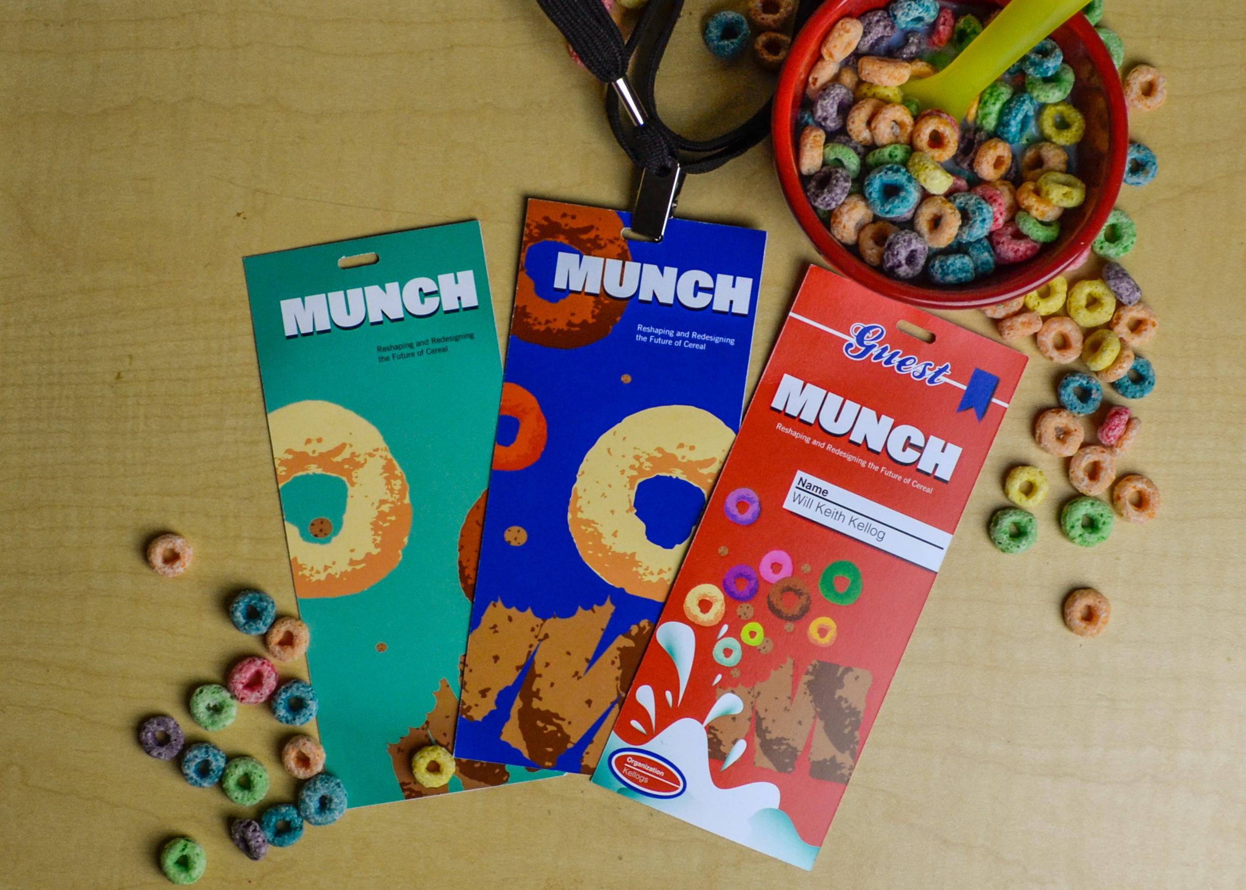 Munch Name Badges