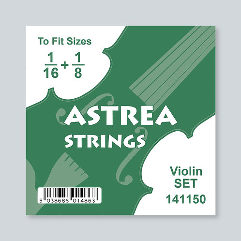 1/16 - 1/8 Size Violin Set