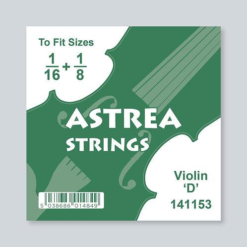 1/16 - 1/8 Size Violin 'D' 3rd
