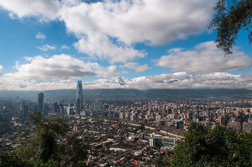 Santiago hacia el Oriente