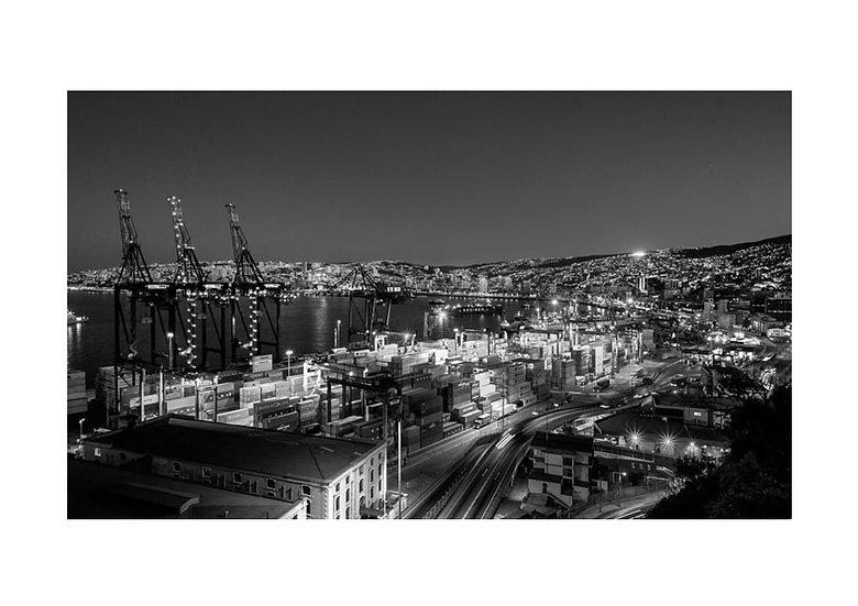 Noche en Valparaiso