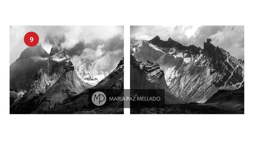 Postal Torres del Paine - Macizos del Paine