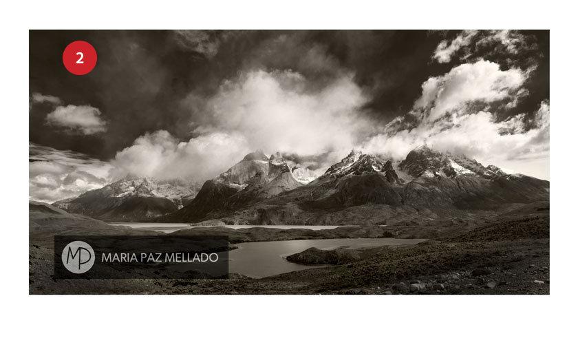 Postal Torres del Paine - Mirador del Lago nordenskjöld