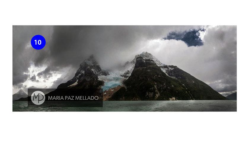 Postal Chile - Glaciar Balmaceda