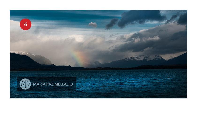 Postal Torres del Paine - Lago Grey