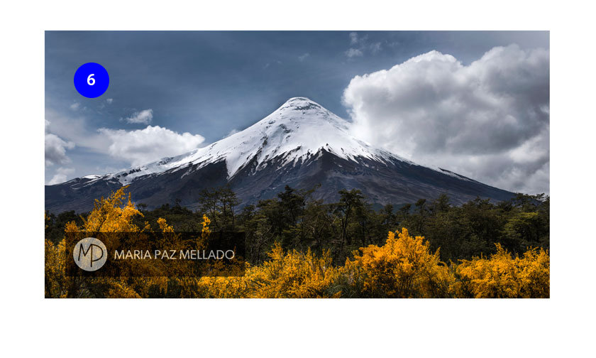 Postal Chile - Volcán Osorno