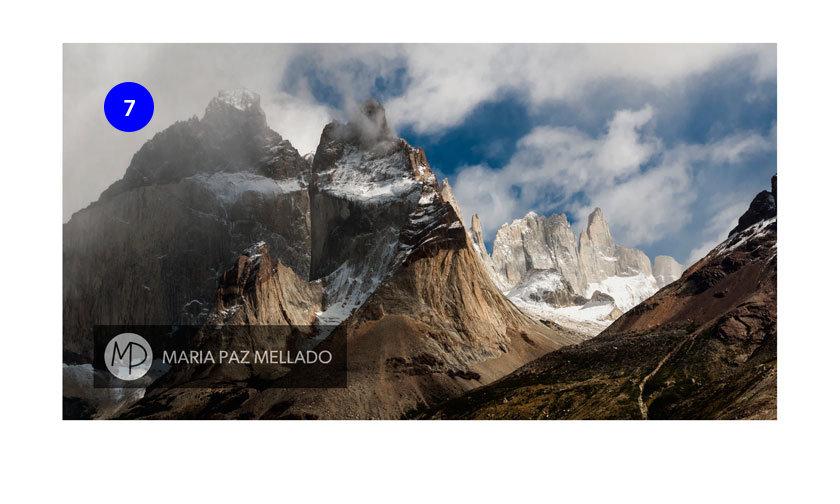 Postal Chile - Las Torres del Paine