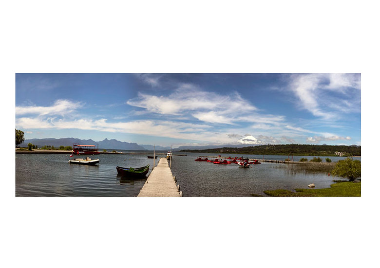 Panorámica Muelle Villarrica