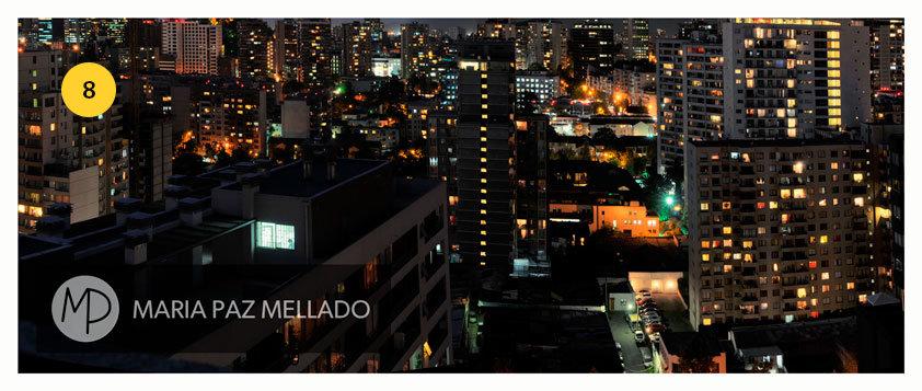 Postal Santiago Amarillo - Frutos de Oro