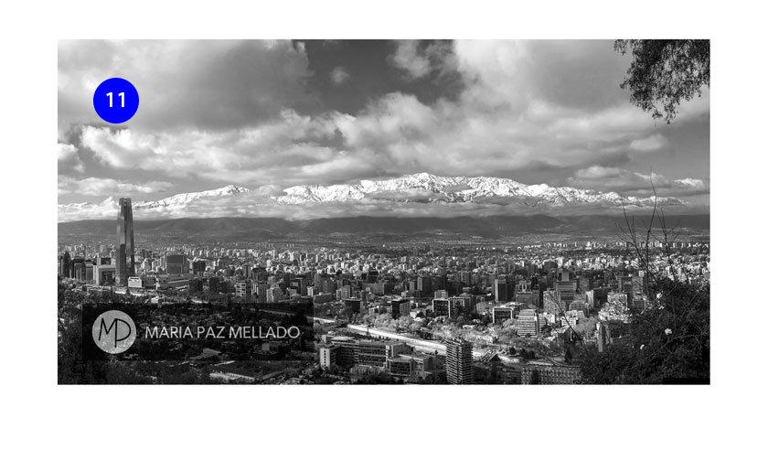 Postal Chile - Santiago de Chile B&N