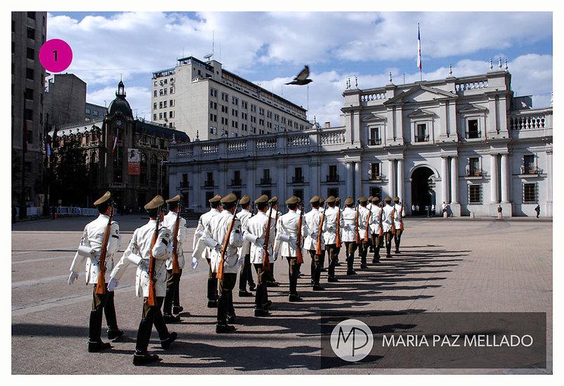 Santiago Magenta - 8 Fotopostales
