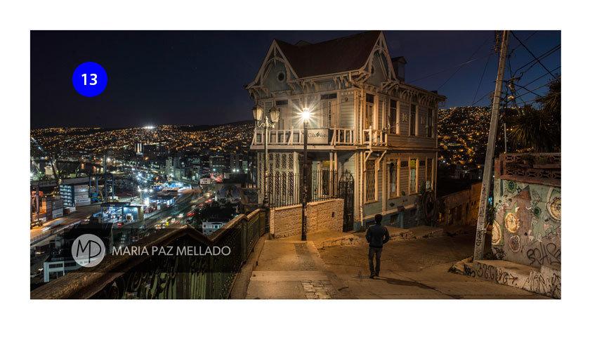 Postal Chile - Caminando por Valparaíso