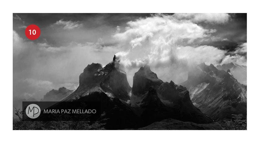 Postal Torres del Paine - Los Andes Patagónicos