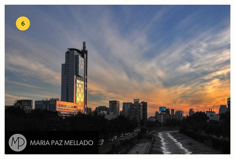 Postal Santiago Amarillo - Pero faltabas tú