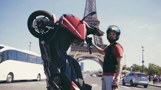 RIDING IN PARIS
