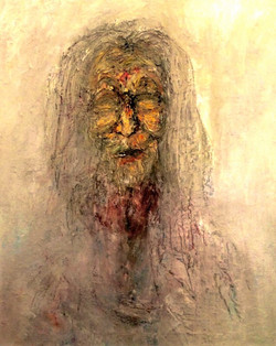 An old widow, 60x40 cm'