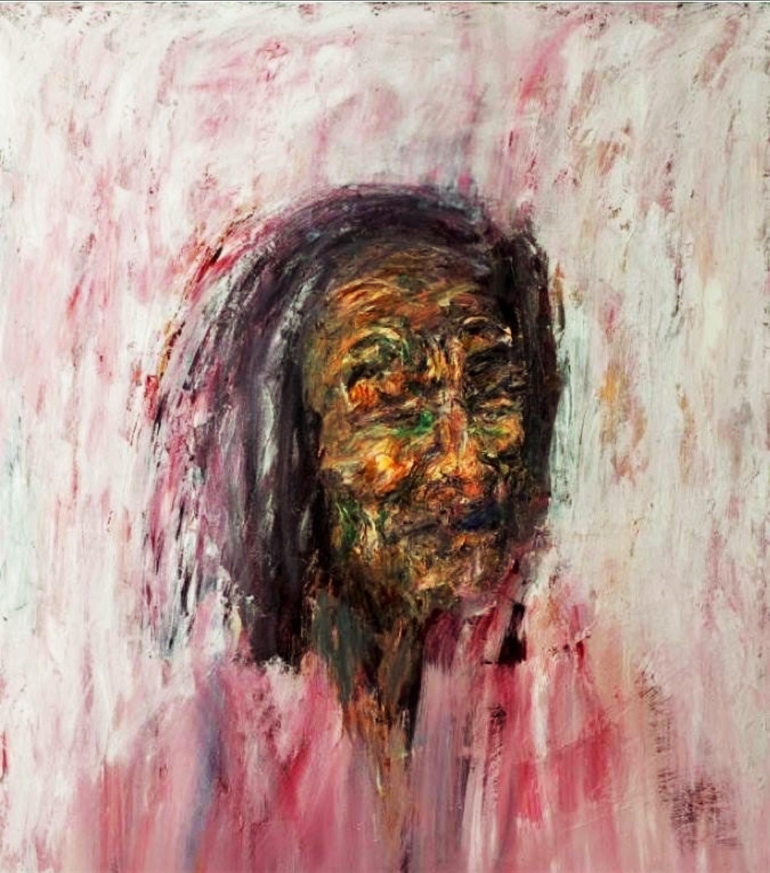 portrait, 100x70 cm'