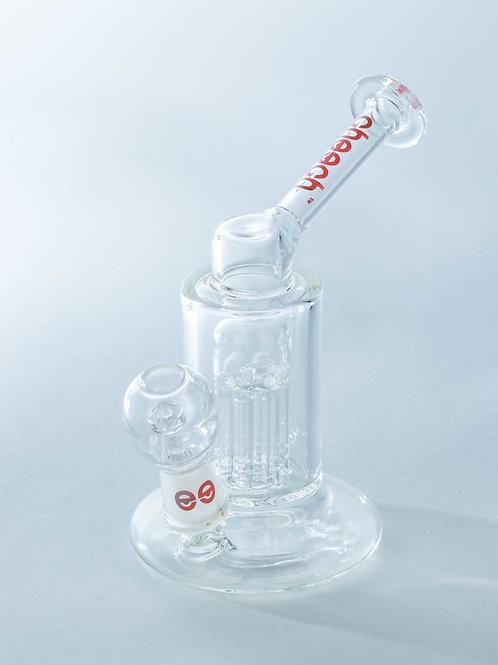 """Cheech Glass 4"""" Tall Mini Tree Perc Oil Rig"""