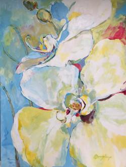 Blanca, 36Wx48H, Acrylic, $2900