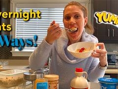 Overnight Oats Recipes - Two Ways
