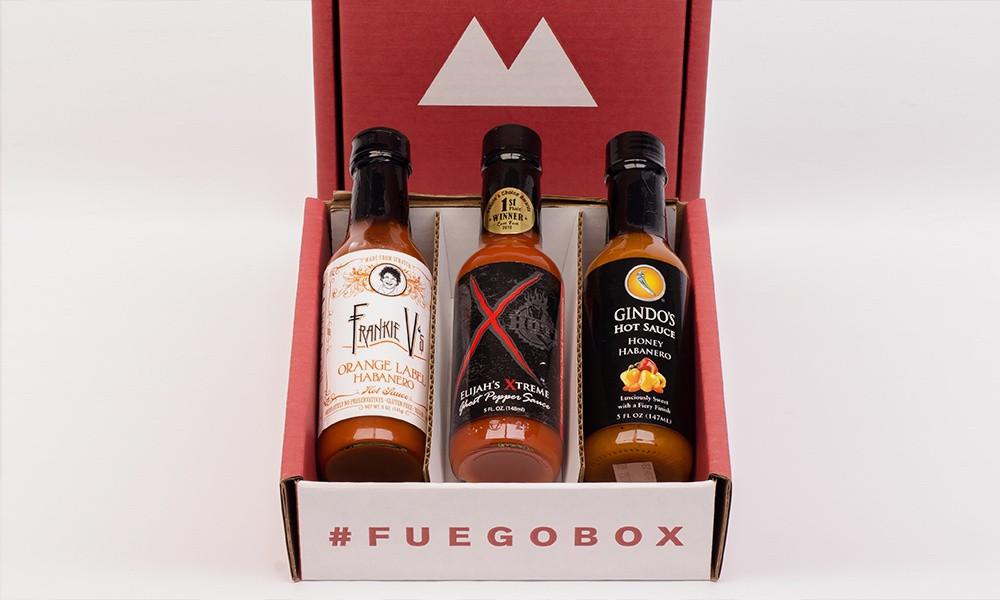 3 bottle Fuego Box