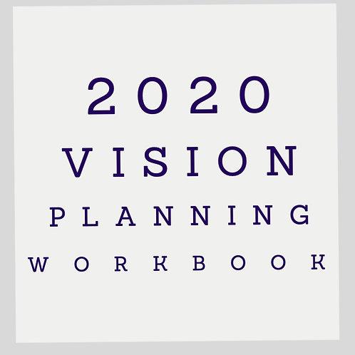 2020 Vision Planning Workbook