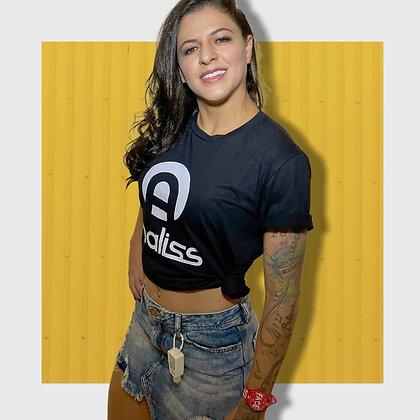 Camiseta Analiss - Preta