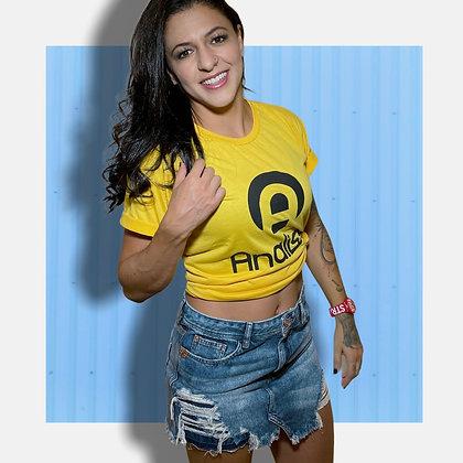 Camiseta Analiss - Amarela