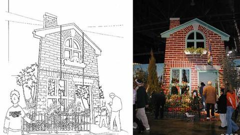 Philadelphia Flower Show Exhibit